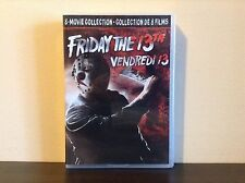 Friday the 13th: The Ultimate Collection (DVD, 2017, 8-Disc Set) *BRAND NEW*
