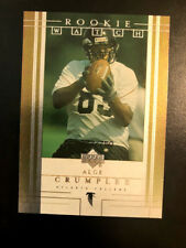 2001 Upper Deck Rookie F/X #230 Alge Crumpler Falcons  272/750 Gold Foil