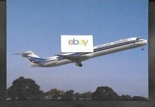 AEROLINEAS ARGENTINAS MD-83 #LV-VAG ON ROTATION BUENOS AIRES 5/1992 POSTCARD