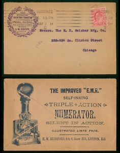 Mayfairstamps Great Britain 1911 London Tripe Action Numerator Advertising With