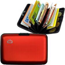 Stockholm Card Case - Ögon Designs Rosso