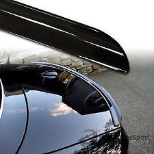 2008-2012 Mercedes Benz W204 C-Class Sedan Boot Lip Spoiler Unpainted