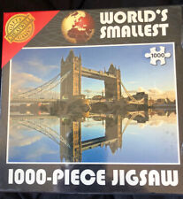 Mew & Sealed Cheatwell Games Worlds Smallest 1000 Piece Puzzle TOWER OF LONDON