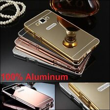 Shockproof Luxury Aluminum Ultra-thin Mirror Metal Case Cover for Samsung Phones