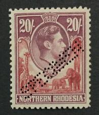 MOMEN: NORTHERN RHODESIA SG #45s 1938 SPECIMEN MINT OG H LOT #191796-576