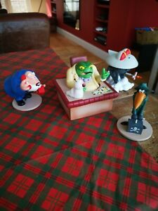 Danger Mouse 25th Anniversary  - Set Of Figurines-- Rare