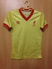 LIVERPOOL ENGLAND 1984/1985 AWAY FOOTBALL SHIRT JERSEY VINTAGE UMBRO