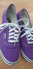 Vans Womens US Size 8.5 Purple Sneakers Trainers