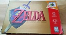 The Legend of Zelda Ocarina Of Time Nintendo 64 N64 System BOX + INNER TRAY ONLY