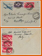 47409 - ITALIA REPUBBLICA Storia Postale: BUSTA Posta Aerea TARIFFA 90 L. 1948