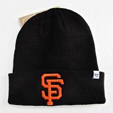 SF Giants Black Cuffed Beanie Winter Cap Hat Authentic 47 Brand