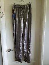 K-WAY Irid Grey Smoke Waterproof Pants for Men K-WAY Sz 8 NWT