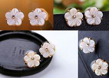 E200 Betsey Johnson Brides Bridesmaid Wedding Bridal Floral Flower Earrings UK