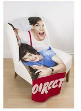 One Direction 1d Craze Girls Childs Fleece Blanket Throw 120cm X 150cm