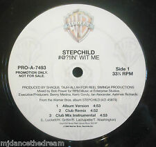 "STEPCHILD ~ #@?!IN With Me ~ 12"" Single USA PRESS PROMO"