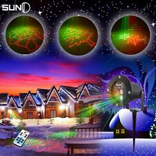 Waterproof Remote Control RG 8 Big Christmas Laser Light Show Deluxe Projector