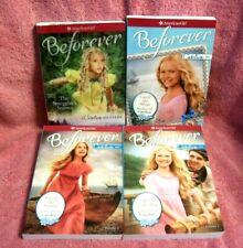 AMERICAN GIRL -SET OF 4 - BEFOREVER - CAROLINE -  CHILDREN'S BOOKS