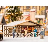 NOCH Christmas Market Stall Laser Cut Minis Kit HO Gauge Scenics 14392