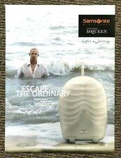 Rare 2007 Vintage Harpers Bazaar Magazine Advert Samsonite Alexander McQueen