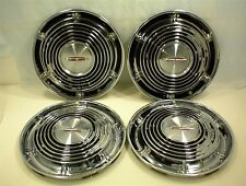 "1964 OLDSMOBILE HUBCAPS 14"" WHEEL COVERS GM 64 OLDS"