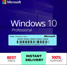 Win 10 Professional 32/64 bit License Key ✅ Online ✅