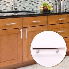 128mm SATIN CHROME T-BAR Kitchen Drawer Cupboard Cabinet Dresser Door Handle