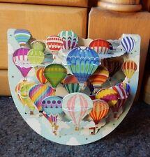 """3D Popnrock Card by Santoro  - """"Balloons"""""""