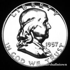 1957 Franklin Mint Proof Half Dollar from Proof Set (Raw Coin)