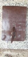 CZ Kartenmeldetasche Kartentasche Melder Melde Tasche Koppeltasche Leder braun
