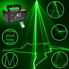 DMX 50mW Green Laser Stage Beam Scanner Christmas Decor Indoor stage Light show