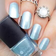 6ml UR Sugar Metallic Mirror Polish Metal Nail Art Varnish  Blue Decor