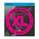 D'Addario EXP170 Coated Bass Guitar Strings, Light, 45-100, Long Scale for sale