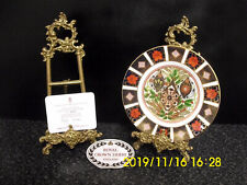 Royal Crown Derby 1128 Old Imari 1994 Christmas Cabinet Plate Ltd Ed Coa Boxed