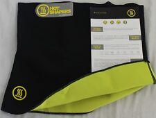 NEW Hot Abs Men's Compression Body Shaper Belt - Black - Size L / XL