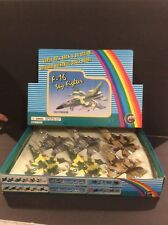 Diecast Military F-16 Sky Fighter Planes Case Of 6 Store Display Mint In Box