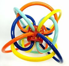 Manhattan Toy Winkel Rattle and Sensory Teether Activity Toy, 316570 New