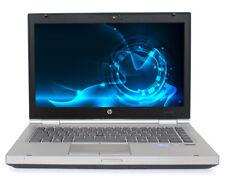 HP 8470P Laptop Win 10 Pro Core i7 3520 2.9Ghz 8GB RAM 256GB SSD ATI 7570