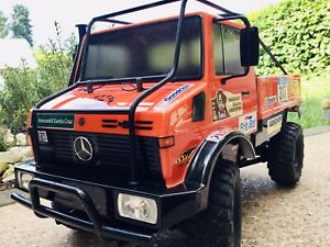 Tamiya RC Unimog 425 Rallye Dakar Unikat Crawler 1/10 wie **NEU**