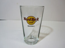 Hard Rock Cafe 2019 BRUSSELS Red Circle Classic HRC Logo Pint Beer Glass