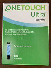 One Touch Ultra Test Strips 100 Count  Exp. 9/30/2021