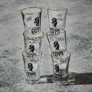 COPS 6er Set Shotglas