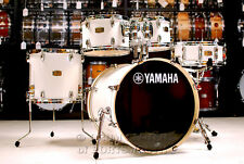"Yamaha Stage Custom Birch 5pc Drum Set w/ 20"" BD Pure White"