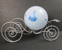 Disney Cinderella Princess Carriage Coach Night Light Lamp Metal Plastic