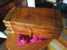 More details for mahogany writing slope with side and secret drawers key and lectern