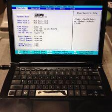 Samsung 900x **Boot to BIOS** i5/1.4GHz/8GB/Bat/Win7 - No OS/HDD