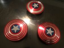 CAPTAIN AMERICA METAL SPINNER FIDGET TOY HAND SPINNER FOR FOCUS ADHD AUTISM