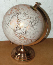 New Antique Style Legends Desk World Globe With Copper Stand