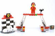 Lego 40194 Ferarri Finish Line & Podium Brand New BOX7444 A