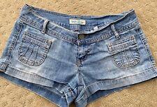Paris Blues Denim Low Rise Denim Jean Shorts Sz 3
