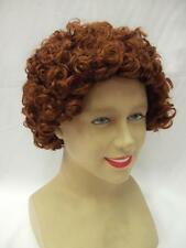 Annie Deluxe ~ Queen Elizabeth 1st Wig ~ Historical ~ Royalty ~ Auburn Curly